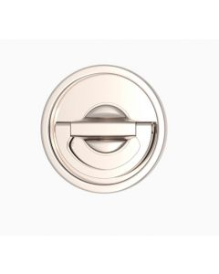 Round Revolving Solid Flush Handle - Each
