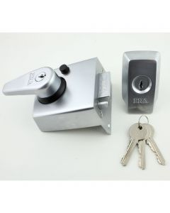 ERA High Security B.S. Night Latch (Front Door Yale Lock) - Satin Chrome
