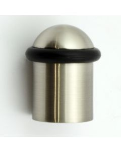 Floor Mounted Door Stop - Satin Nickel