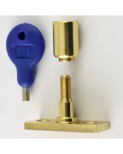 Locking Stay Pin - Polished Brass