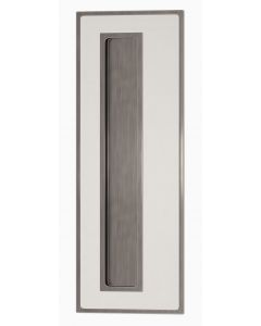 Bordered Recess Leather Flush Handle - Each