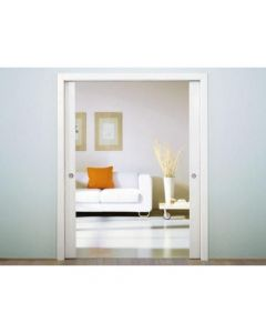 Eclisse Sliding Pocket Door System - Double Door Kit - To Suit 100mm Wall Thickness