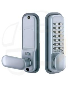 Mortice Latch Digital Lock with Dual Backplate