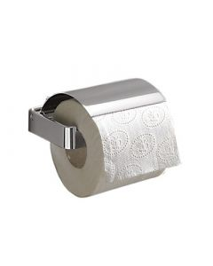 Lounge Range - Toilet Roll Holder with Flap - Polished Chrome