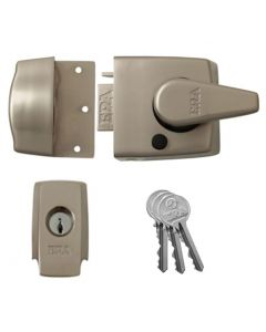 ERA 1730 Range - High Security BS 8621 Rated - Escape Night latch - Satin Nickel
