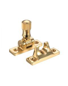 Brighton Pattern Sash Fastener - Polished Brass