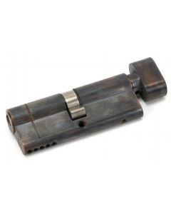 5 Pin Anti Snap Euro Profile Cylinder - Key / Turn - Aged Bronze
