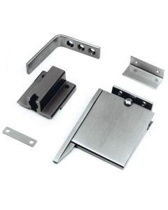 Double Rebated Door Selector / Co-ordinator MK2 - Satin Stainless Steel