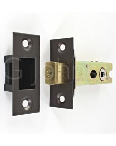 Architectural Quality Tubular Mortice Deadbolt With 5mm Follower - CE Marked - Fire Rated - Certifire Aprroved - Matt Bronze