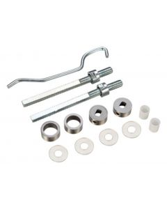 Back To Back Fixing Kit For Tubular Shape Pull Handles - Satin Stainless Steel