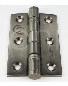Ball Bearing Hinges - 76mm x 50mm - Matt Bronze
