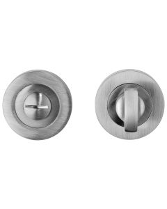 Bathroom Turn & Release Set - Satin Nickel