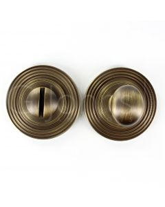 bathroom-oval-knob-turn-release-with-reeded-round-rose-53mm-x-10mm-antique-brass