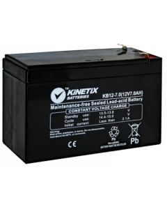 Rechargeable Battery - 12V - 2.1AH - Black
