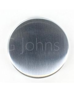 Blank Escutcheon - Satin Chrome