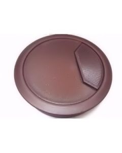 Cable Outlet Sleeve - 80mm Diameter Hole - Brown Plastic