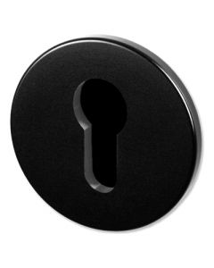 Buster & Punch Euro Profile Cylinder Key Hole Cover Escutcheon Plates - Black