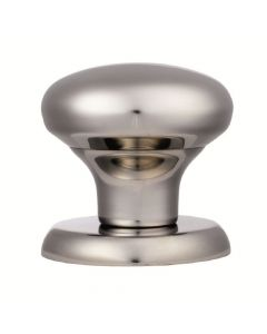 Centre Door Knob - 70mm Diameter - Satin Stainless Steel
