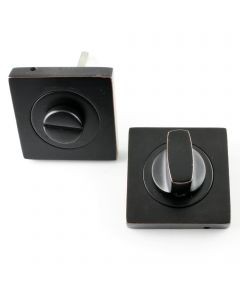Bathroom Turn & Release Set - Oil Rubbed Dark Bronze