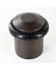 chamfered-pattern-floor-mounted-door-stop-40mm-x-38mm-dark-bronze