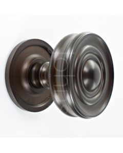classic-design-mortice-knob-with-raised-front-concealed-fixed-rose-dark-bronze
