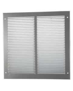 Face Plate Cover For Air Transfer Grilles - Silver Finish
