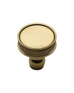 Cupboard Knob - 32mm - Polished Brass
