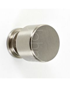 cylinder-shape-stepped-pattern-cupboard-knob-with-round-base-satin-nickel