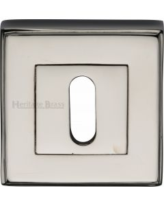 Standard Square Profile Escutcheon - Polished Nickel