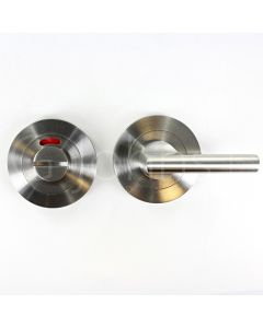 Disabled Large Bathroom Turn & Release Set - Satin Stainless Steel
