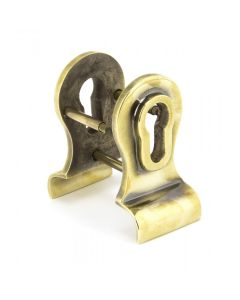 Dual Sided Euro Profile Cylinder Pull - Aged Brass