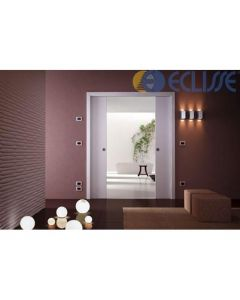 Eclisse Sliding Pocket Door System - Double Door Kit - To Suit 125mm Wall Thickness