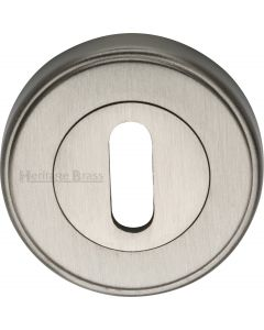 Standard Round Profile Escutcheon - Satin Nickel