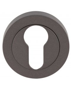 Euro Profile Escutcheon - Matt Bronze