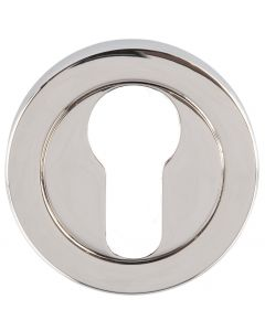 Euro Profile Escutcheon - Polished Nickel