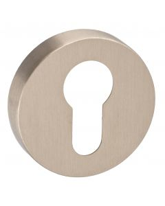 Euro Profile Escutcheon - Minimal Design - 50mm x 10mm - Satin Nickel