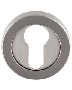 Euro Profile Escutcheon - Satin Nickel