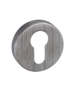 Euro Profile Round Escutcheon - Urban Graphite