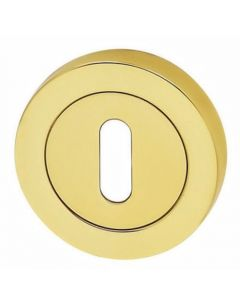 Standard Profile Escutcheon - Polished Brass