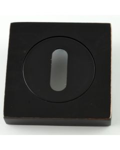Standard Profile Square Shape Escutcheon - Oil Rubbed Dark Bronze