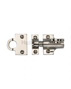 Fanlight Catch - Polished Nickel