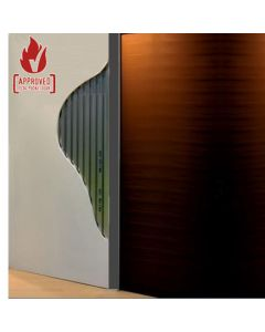 FD30 - 30 Minute Fire Rated Adjusable Sliding Pocket Single Door Kit - To Suit Doors 626mm - 1500mm Wide And Up To 2700mm High