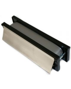 Intumescent Fire and Smoke Rated Telescopic Sleeved Letterbox - 30 Minute FD30 Tested - 306mm x 70mm