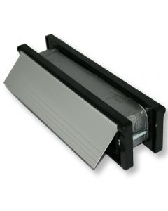Intumescent Fire and Smoke Rated Telescopic Sleeved Letterbox - 30 Minute FD30 Tested - 272mm x 70mm
