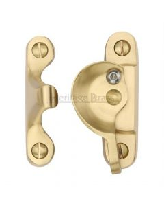 Fitch Pattern Sash Fastener - Satin Brass