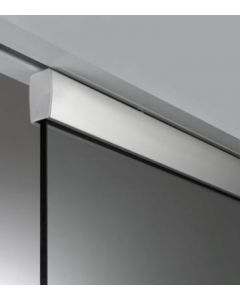 Architrave Free Adjustable Sliding Pocket Single Door Kit For Glass - To Suit Doors 626mm - 1300mm Wide And Up To 2700mm High