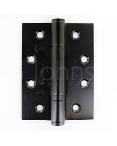Polymer Bearing Grade 13 Hinges  - CE Marked - Fired Rated - Certifire Approved - 120kg Weight Limit - 102mm x 76mm - Matt Black