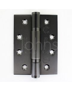 Polymer Bearing Grade 13 Hinges  - CE Marked - Fired Rated - Certifire Approved - 120kg Weight Limit - 102mm x 76mm - Dark Bronze