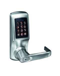 Heavy Duty Digital Smart Lock - Mobile/ Key/ RFID Card Operated - Satin Stainless Steel