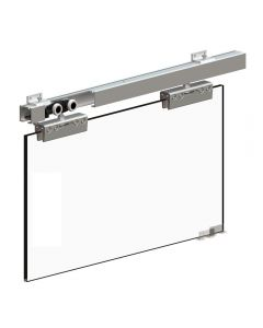Sliding Door Gear System For 8-12mm Thick Glass Doors Up to 100kg In Weight